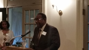 Green at leadership dekalb event