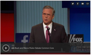 rubio & bush 8.6.15 debate