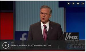 rubio & bush 8.6.15 debate